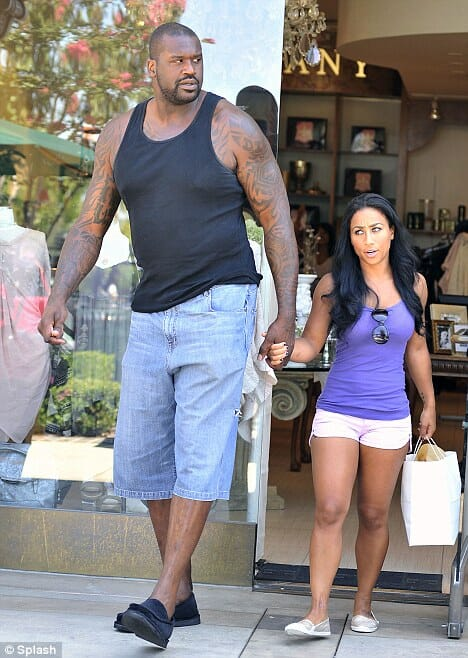 Shaq with short wife